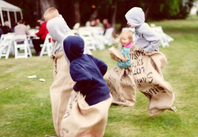 ako zabavit deti na svadbe