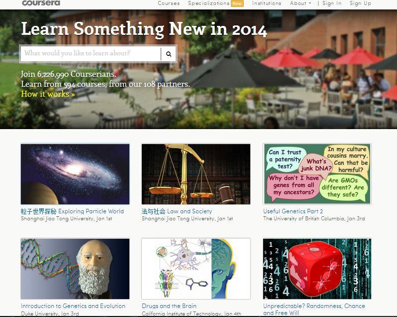 Vzdelávanie zdarma - Coursera