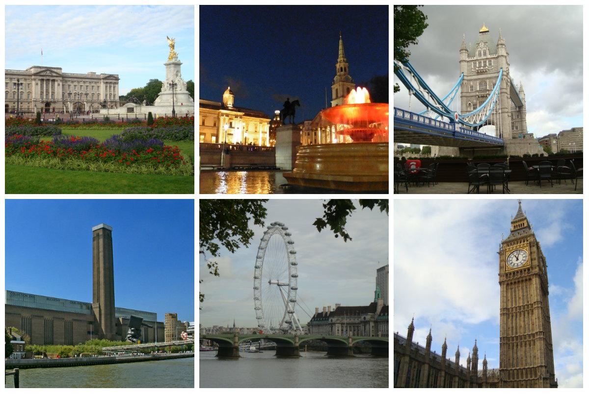 Fotky centrálny Londýn
