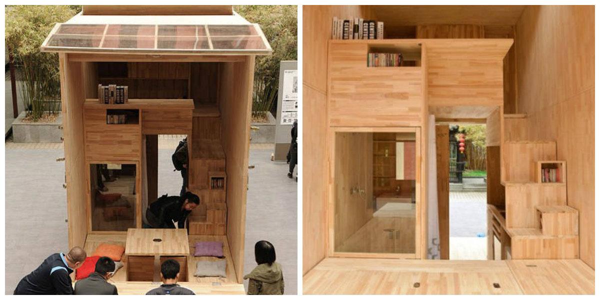 Prototyp bývania študentov v Číne