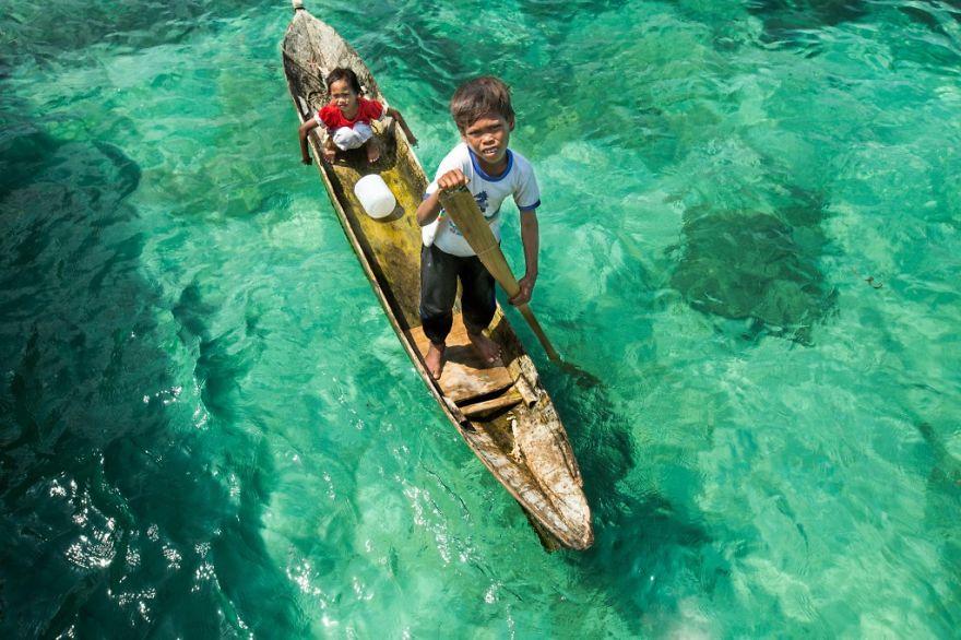 Deti z ostrova Borneo