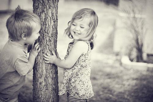 detské lásky-objatie