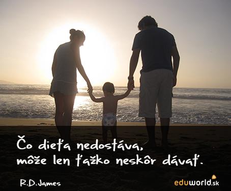 výchova- rodina-citáty-eduworld.sk