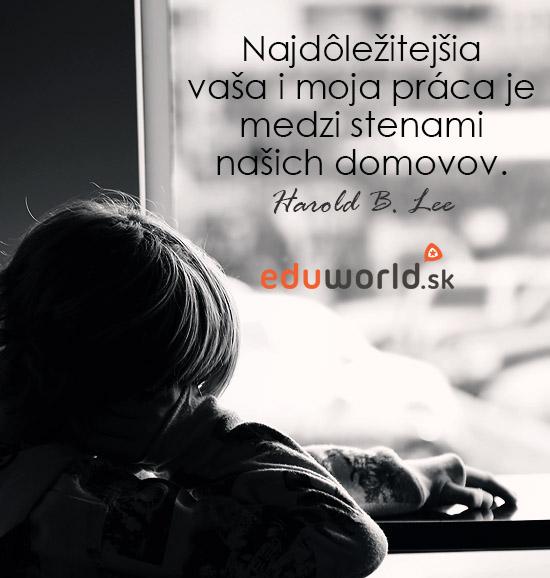 citáty o výchove- eduworld.sk