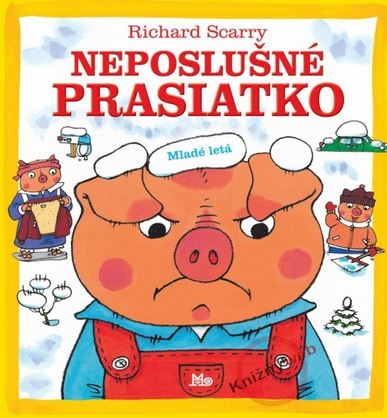 Knihy pre najmenších- Neposlušné prasiatko- eduworld.sk