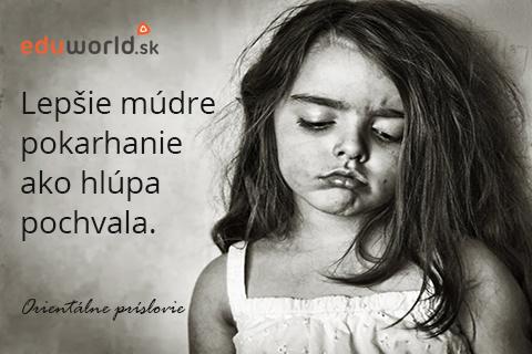karhanie detí-pochvala-citáty-eduworld.sk