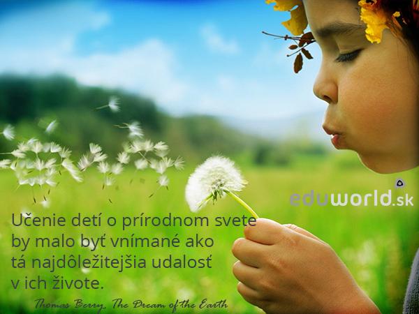 učenie o prírode-deti-eduworld.sk