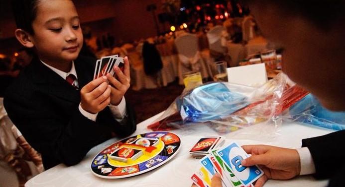 Aktivity pre deti na svadbe