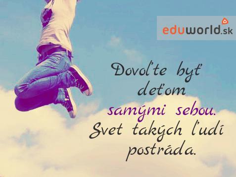 citáty o deťoch -eduworld.sk