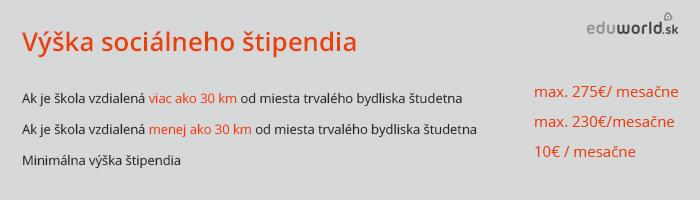 sociálne štipendium 2014/2015