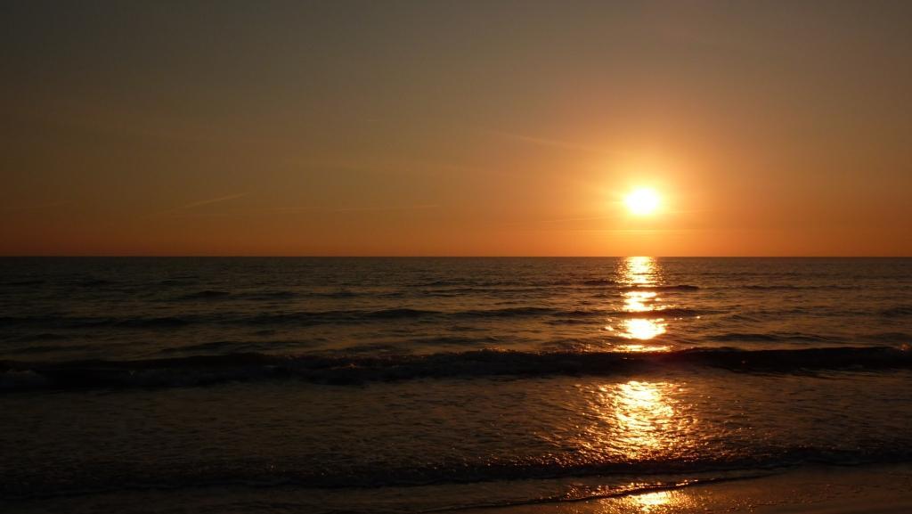 Západ slnka na Cypre