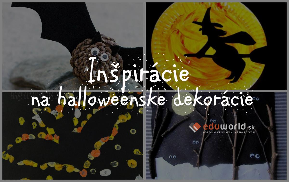 Nadherne Halloweenske Dekoracie Ktore Si Vyrobite Aj S Detmi Eduworld Sk