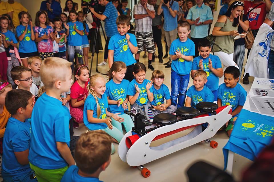 Program MyMachine priblížil deťom technické smery vzdelávania.