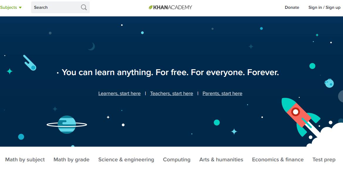 zdroj: Screenshot Khan Academy
