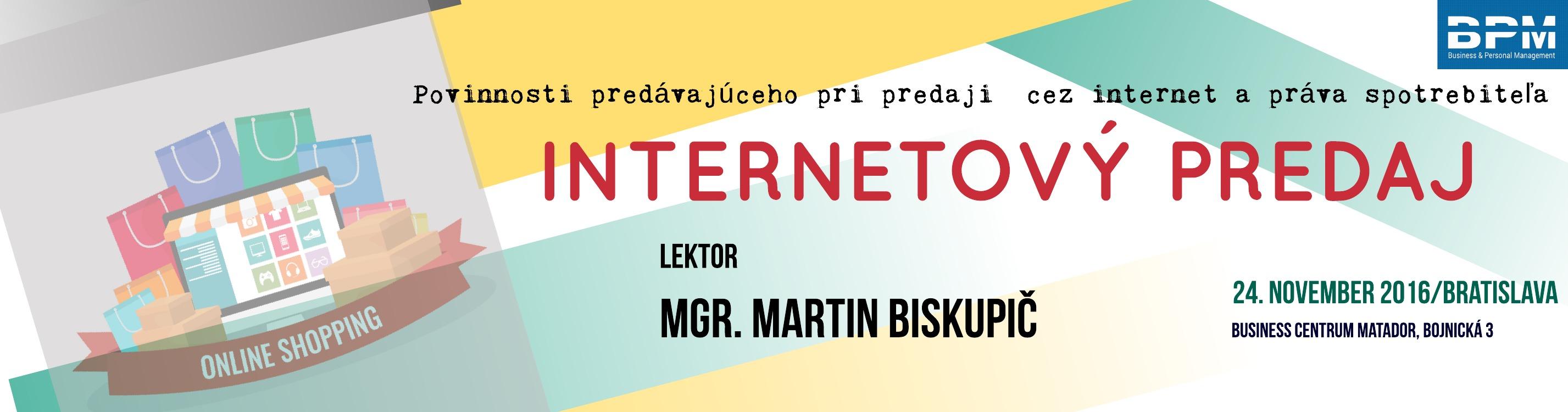 Internetový predaj - povinnosti predávajúceho pri predaji cez internet a  práva spotrebiteľa  d108a2e2b85