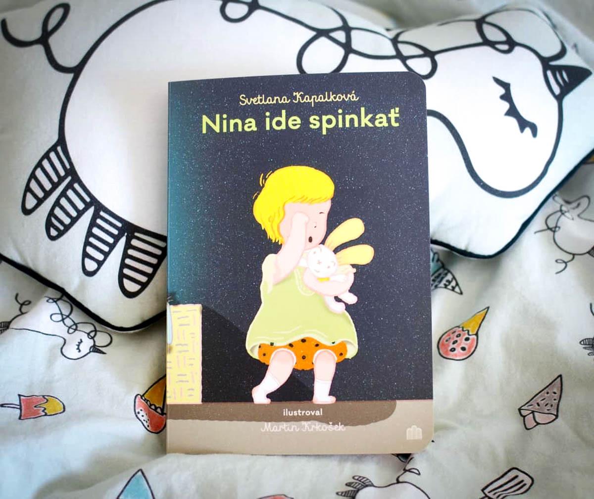 Kniha Nina ide spinkať / Foto: FB Ninnulina číta