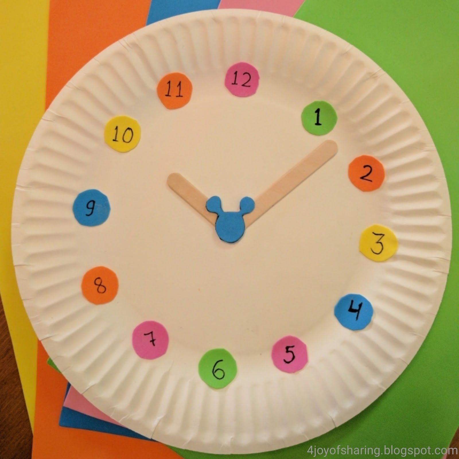 Učíme sa s deťmi čas / Zdroj: 4joyofsharing.blogspot.com