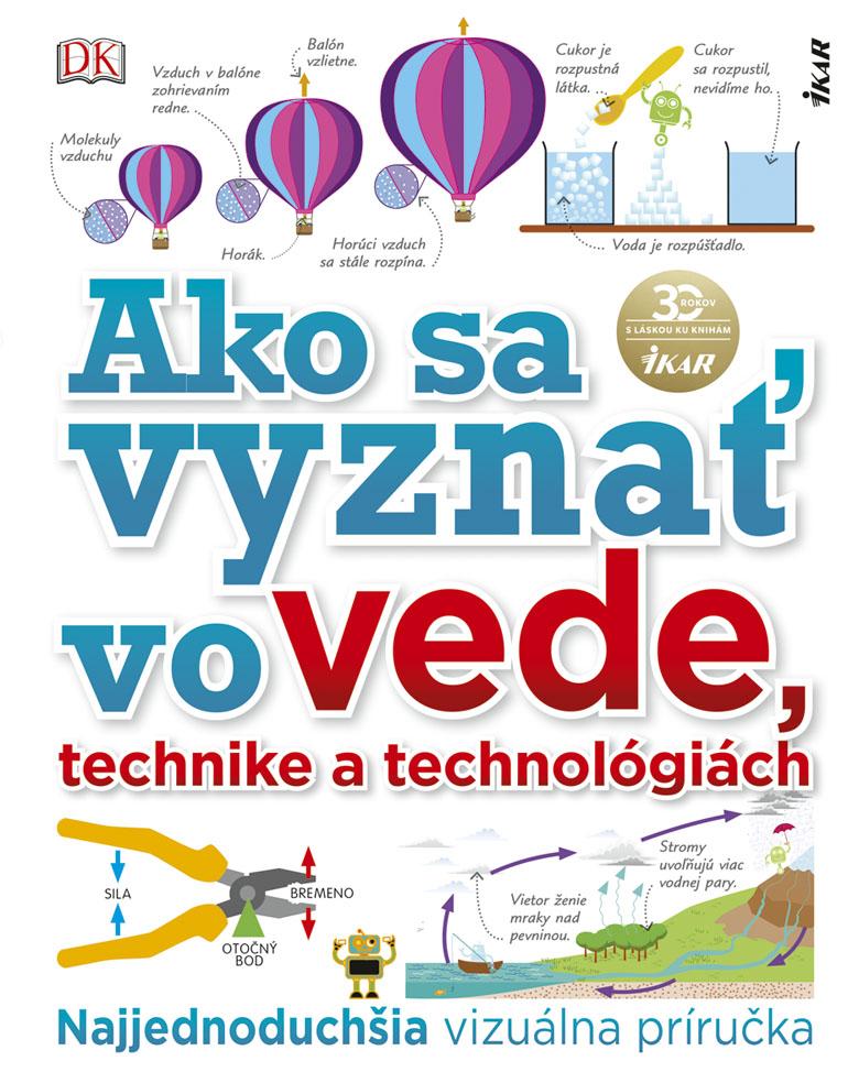 Kniha Ako sa vyznať vo vede, technike a technológiách deťom ponúka 300 strán pútavých informácií. / Zdroj: Ikar