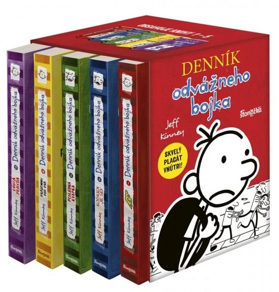 Denník odvážneho bojka - box s knihami / Zdroj: Stonožka
