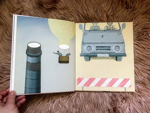 Detská kniha Oči od Iwony Chmielewskej / Foto: VM