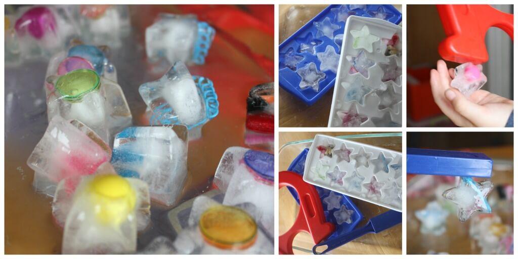 Magnetický ľad. Zdroj: littlebinsforlittlehands.com