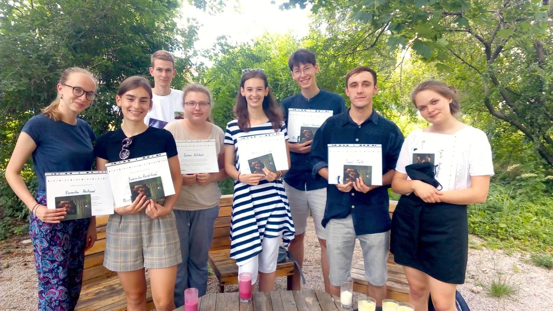 Študenti z programu Akadémia veľkých diel / Zdroj: AVD