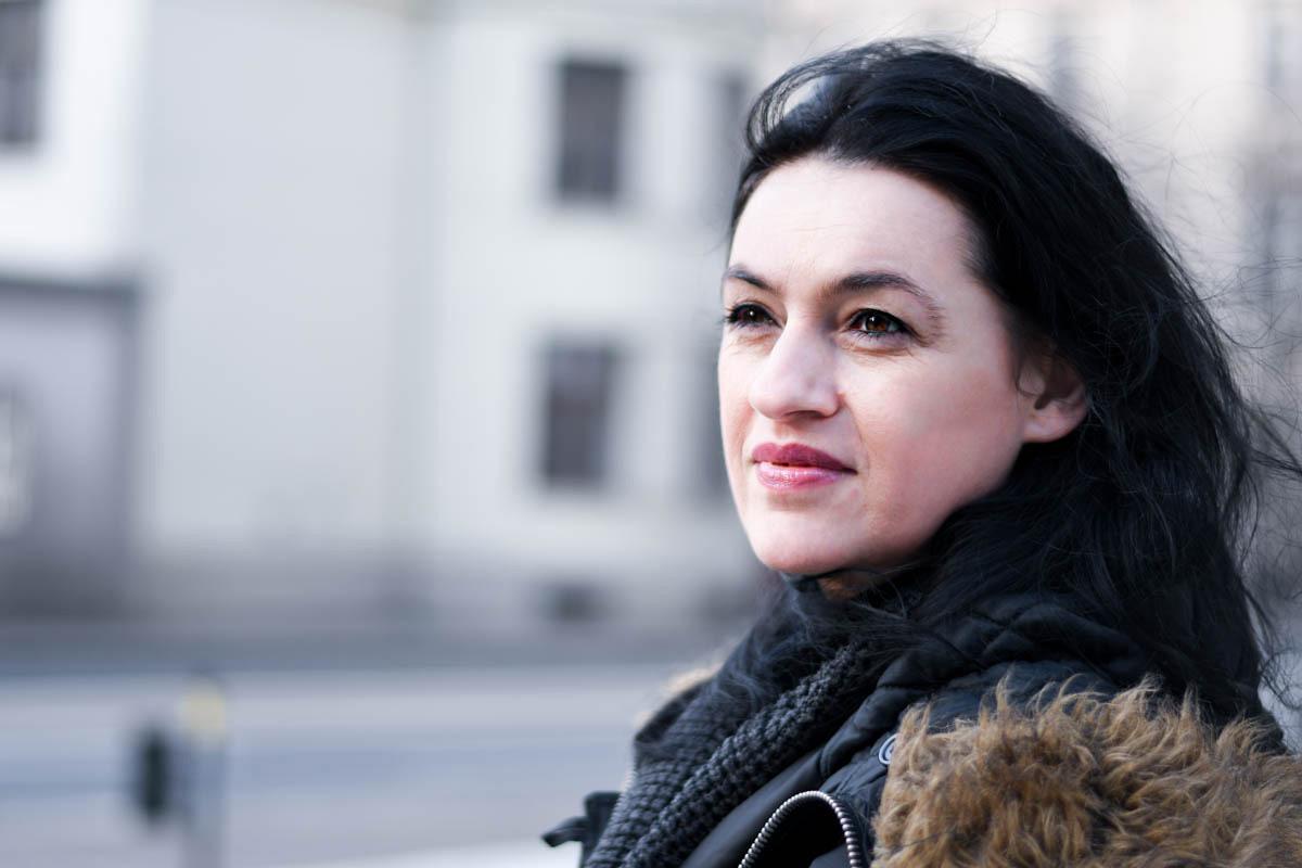 Ľudmila Hrdináková z Katedry knižničnej a informačnej vedy FF UK v Bratislave. / Foto: Zuzana Gránska