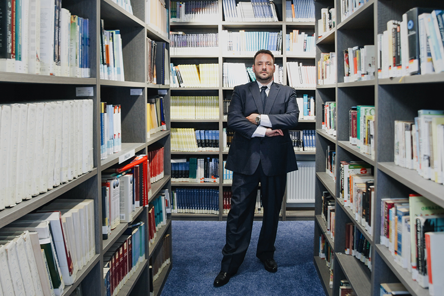 Sotiris Foutsis, generálny manažér University of New York in Prague / Zdroj: UNYP