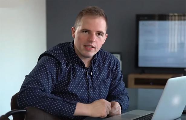 Viktor Herrgott, autor projektu a konateľ produkčnej spoločnosti Auvid