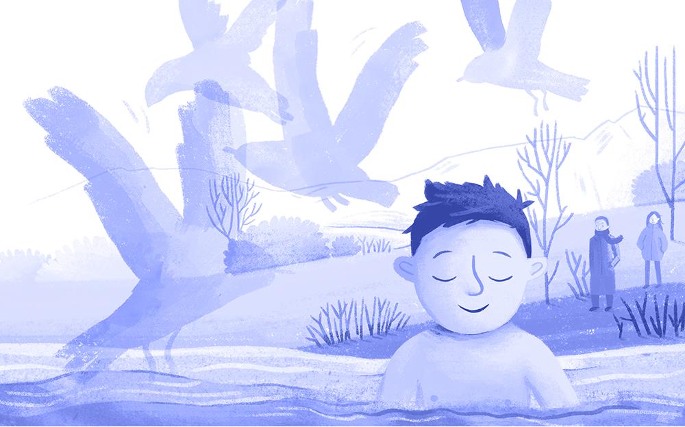 Zachariáš a studená voda (Daniel Rušar) / Ilustrácie: Adela Režná