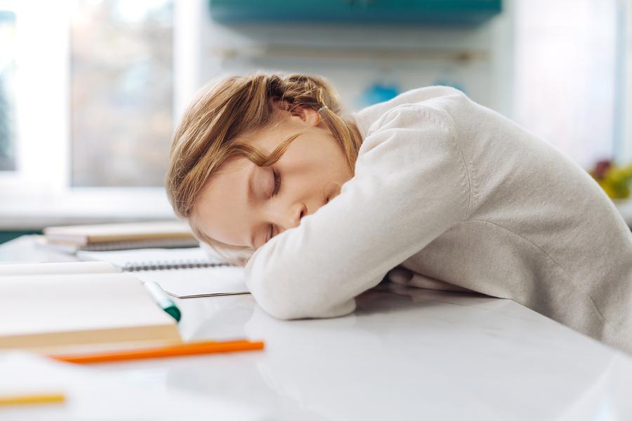 Spánkový dlh dieťa v skutočnosti nemôže dohnať. / Zdroj: Bigstock