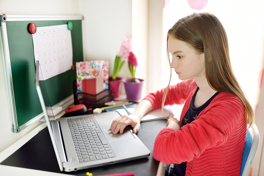 Vyučovanie sa aj tento školský rok s veľkou pravdepodobnosťou nejaký čas zmení na online. / Zdroj: Bigstock