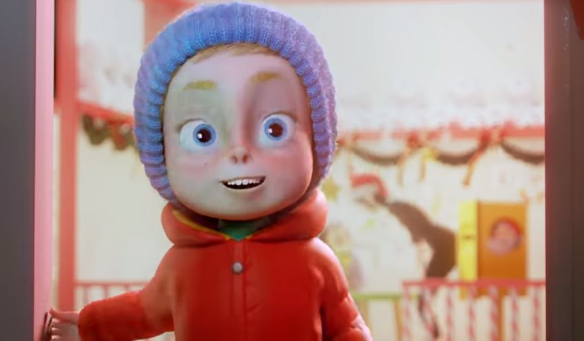 Vianoččná reklama so škriatkom Elfredom