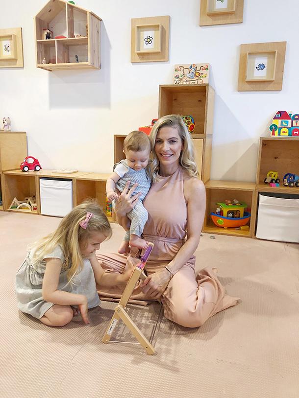 Denisa Lipovská (36), majiteľka detského voľnočasového centra HappyBee a bývala fitneska / Zdroj: archív DL