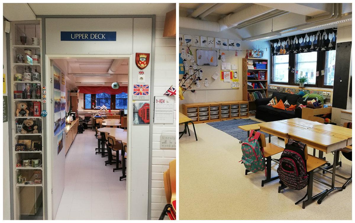Fínska trieda na základnej škole