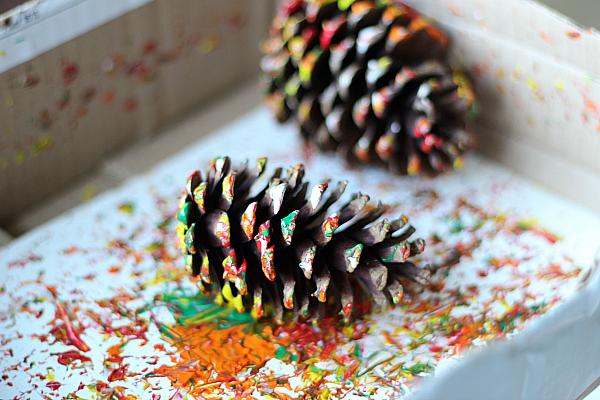 Maľovanie šiškami / Zdroj: notimeforflashcard.com