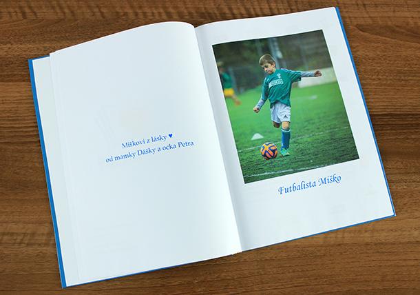 Ukážka z knihy Ja, futbalista / Zdroj: archív ĽJ
