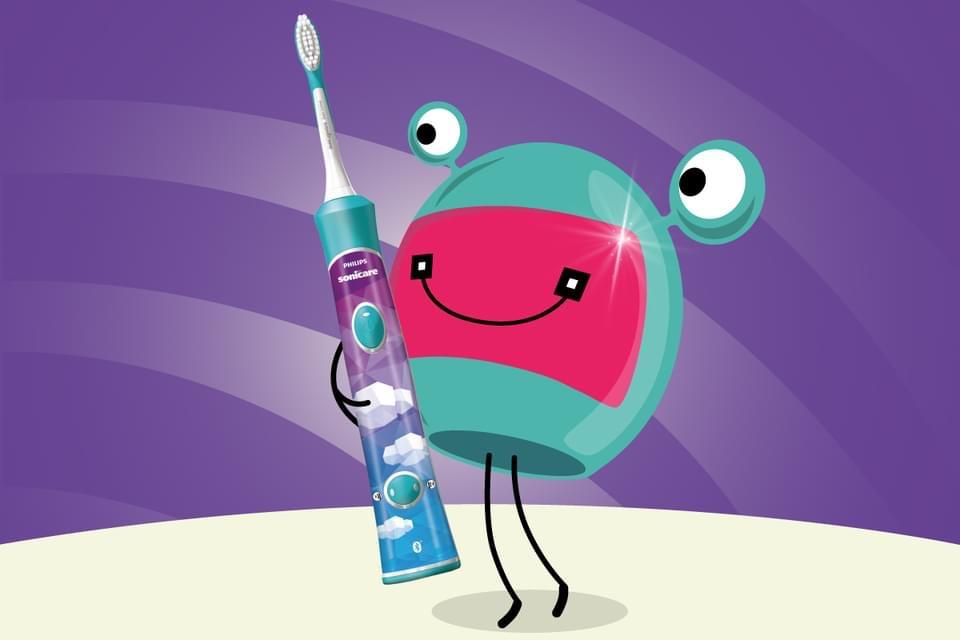 Prečítajte si zábavný príbeh, ako sa Kozmix naučil čistiť si zuby.