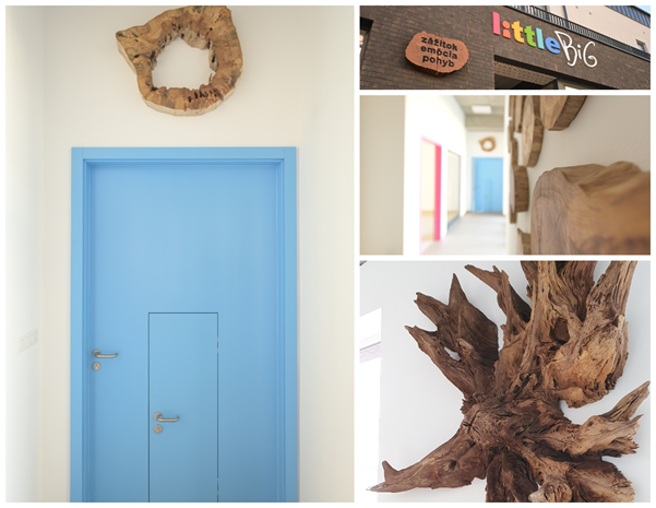 Materská škola littleBIG - drevené deokrácie / Zdroj:  littleBIG