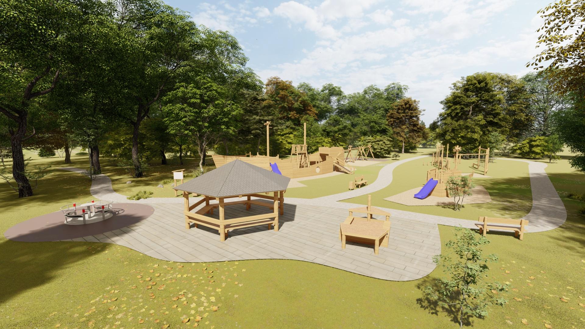100 detských ekologických ihrísk bez bariér