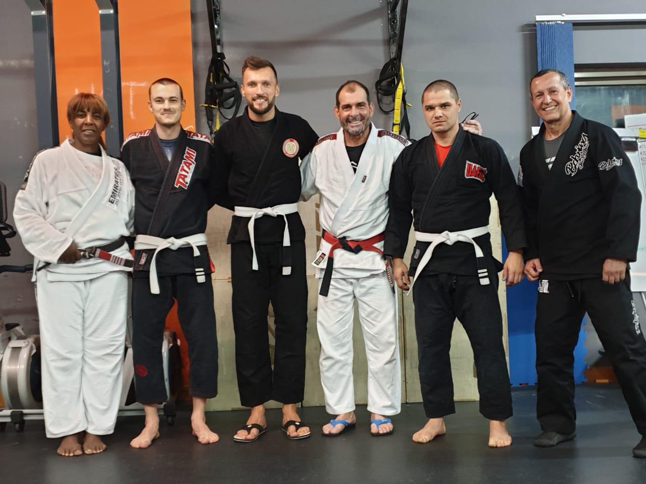 Michal Kubalák počas tréningu v Emirátoch / Zdroj: archív MK