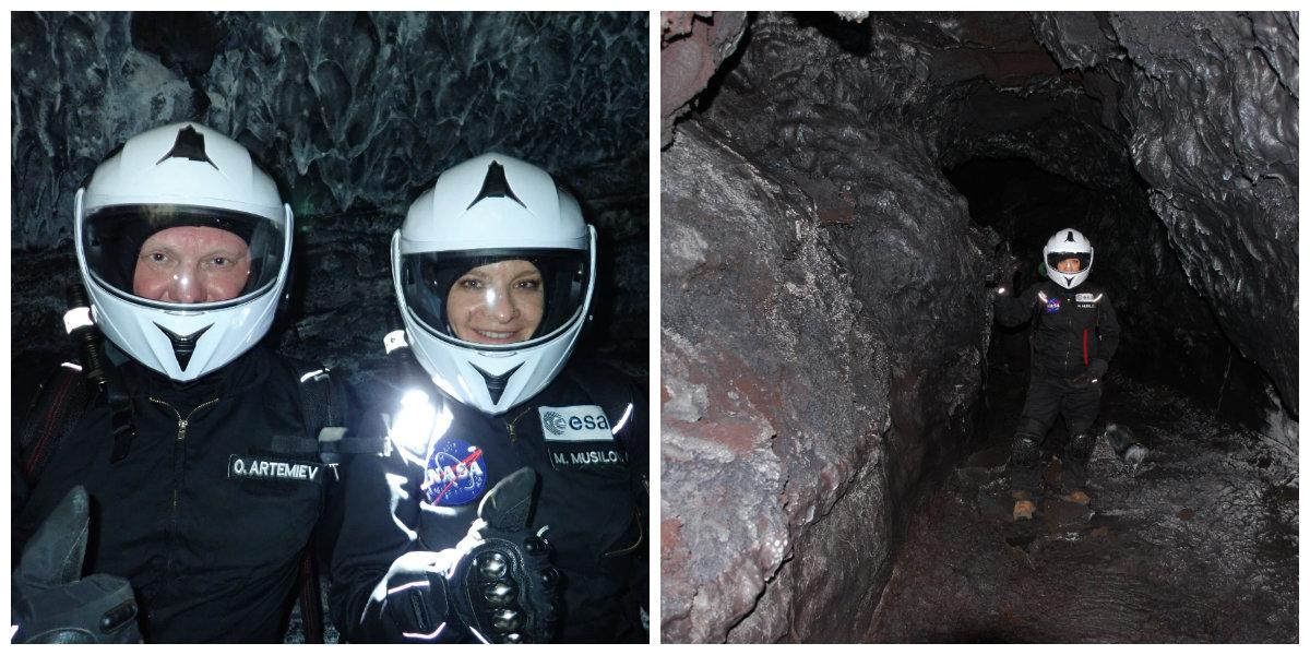 Na Marse by sa lávových tuneloch mohol skrývať život, na Mesiaci by sa v nich zase mohli vybudovať základne pre ľudí. / Foto: archív MM