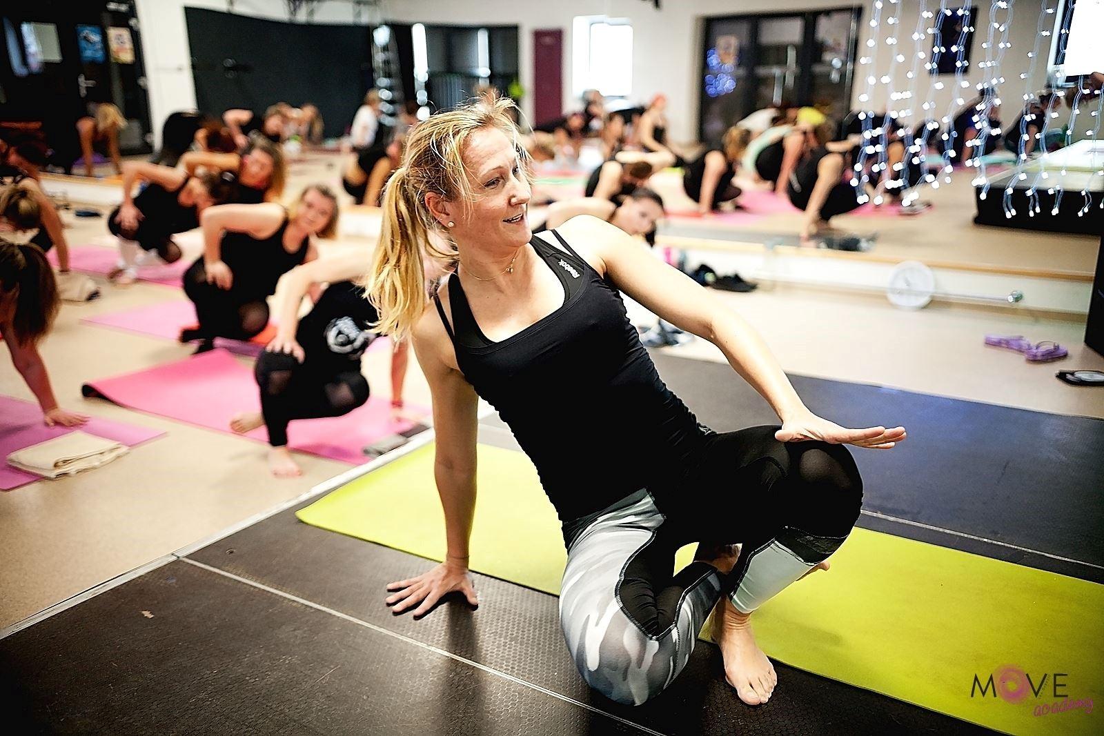 Lea Grančič celý život motivuje ľudí k pohybu a sprevádza ich pri tom, aby so svojím telom bojovali. / Zdroj:  FB Move Academy
