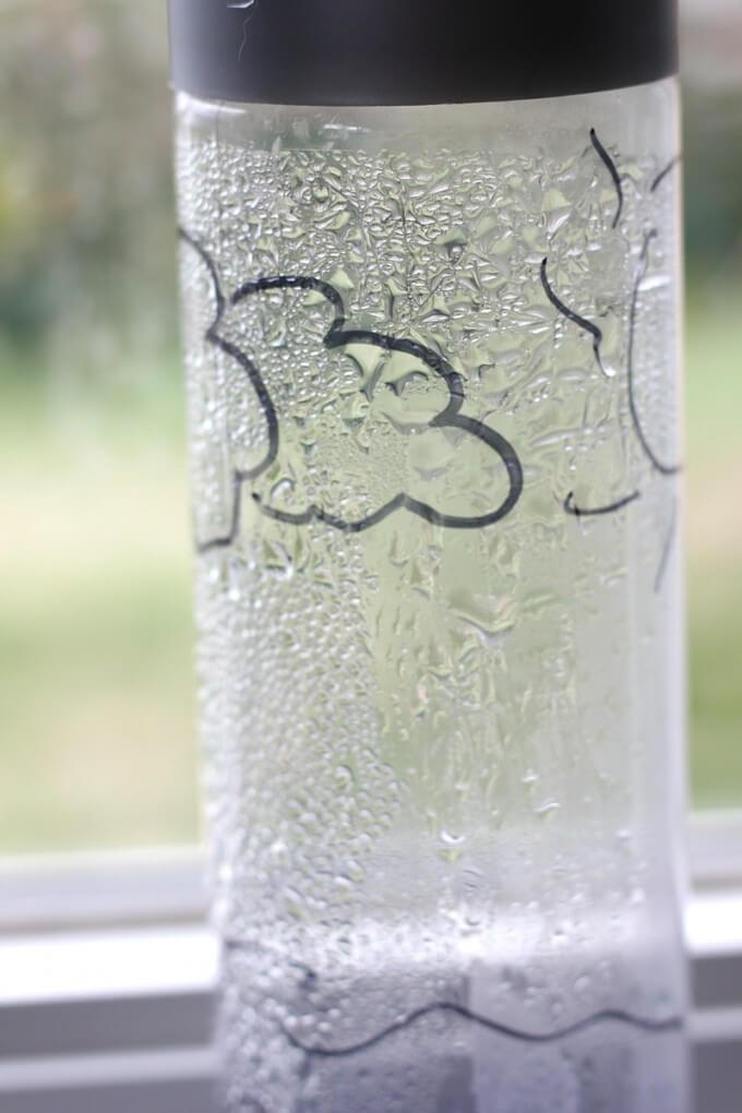 Vyparená voda. Zdroj: littlebinsforlittlehands.com
