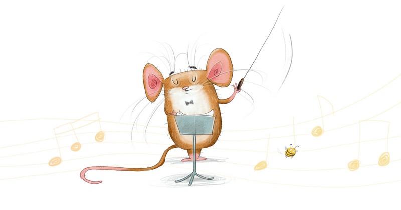 Majster myšiak z knihy Divoká symfónia / Zdroj: Stonožka