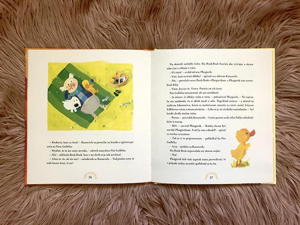 Tretia kniha zo série Pán Guľôčka - Radosť / Foto: V. Marcinová