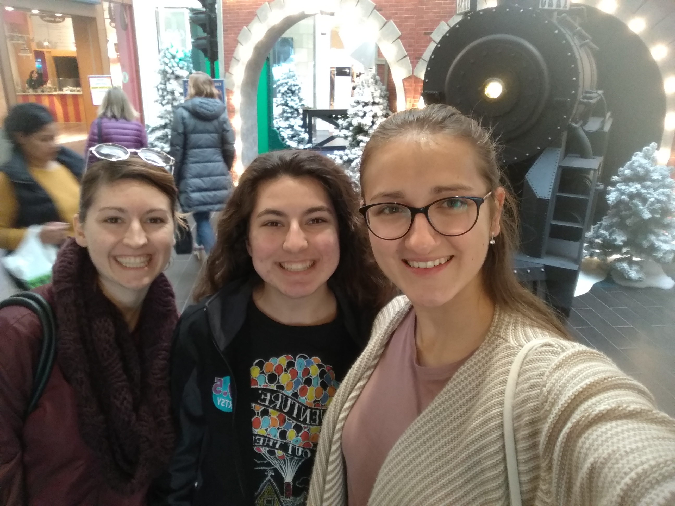 Kristína s americkými sestrami / Foto: archív KS