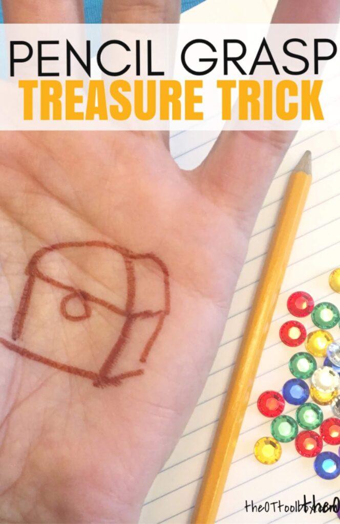 Obrázok nakreslený na ruke schováme pod dva prsty. Zdroj: thetoolbox.com