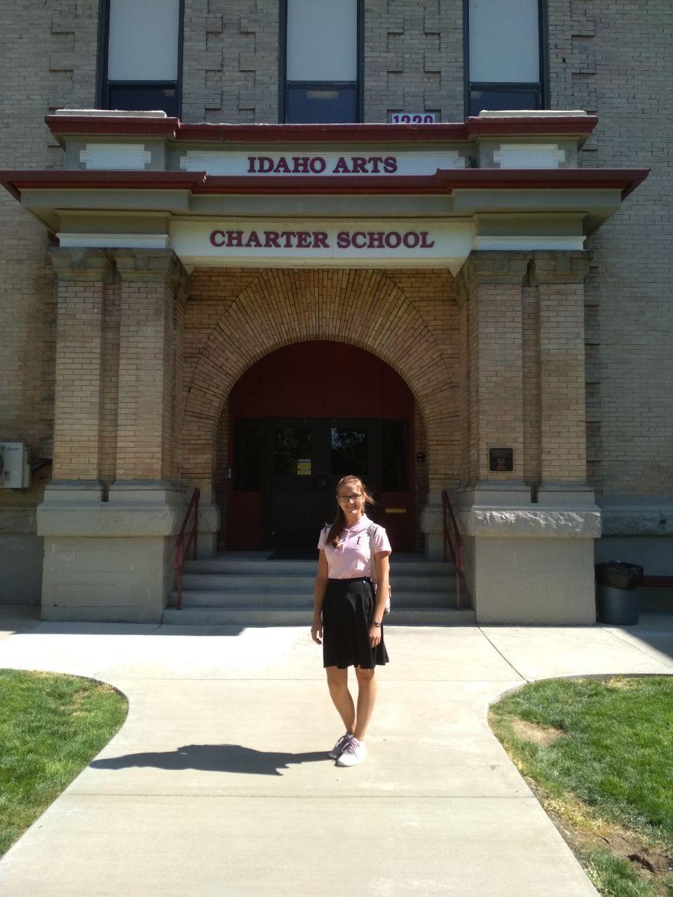 Kristína študijný pobyt v USA absolvovala na strednej škole v do mesta Nampa. / Foto: KS