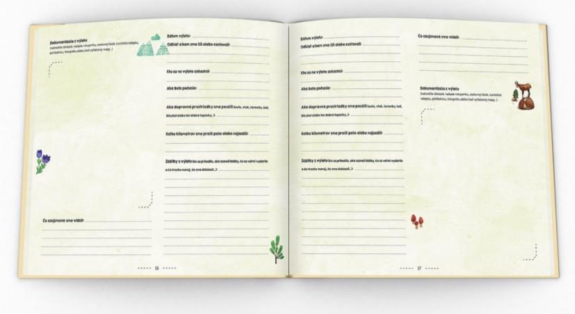 Kniha Naše výlety / Zdroj:  Familium